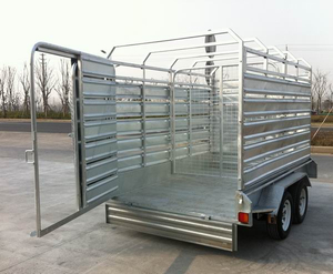 12x6 foot Cattle/sheep carrying livestock farm trailer