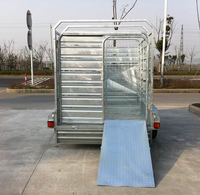 9x5 Cattle crate trailer