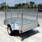 8x5 Single axle trailer