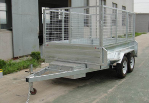 8X5 Hydraulic tipping trailer