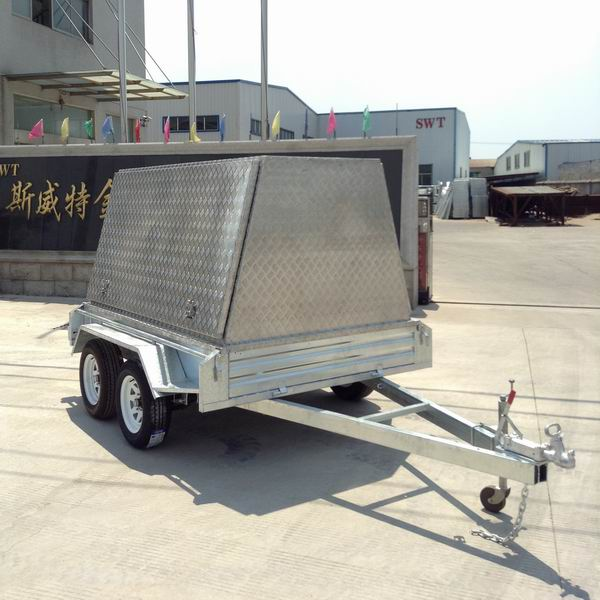 Tradesman trailer Fully welded tandem trailers