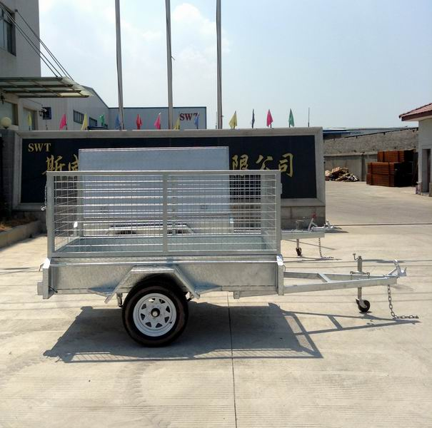 7x4 Single axle trailer