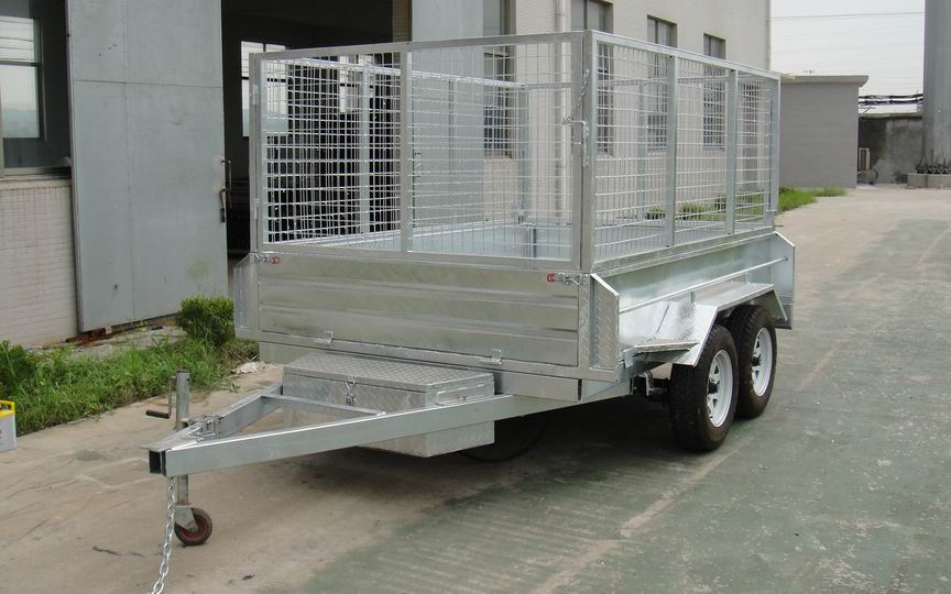 9X5 Hydraulic tipping trailer