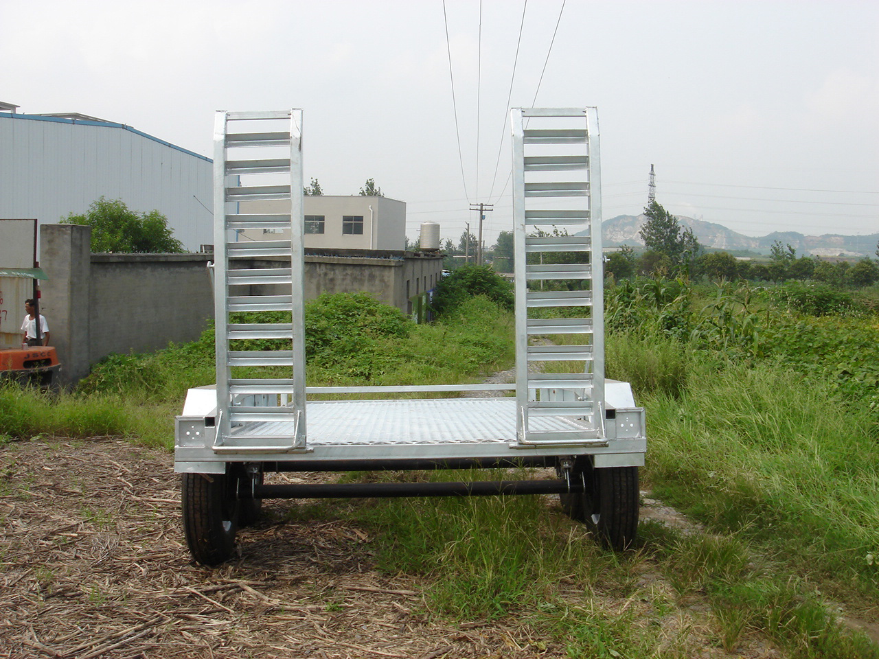 Best tire styled mobile plant trailer with the best price